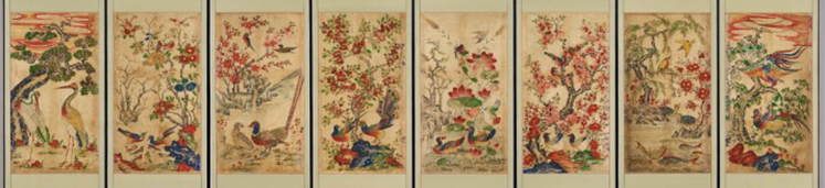 Birds & Flowers_the late Joseon Dynasty